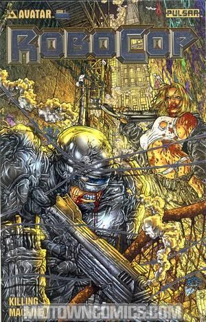 Robocop Killing Machine Special #1 Cover E Platinum Foil Incentive Cover