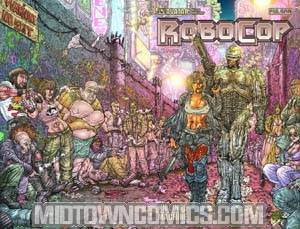 Robocop Killing Machine Special #1 Cover B Wraparound