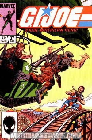 GI Joe A Real American Hero #37 Cover A 1st Ptg