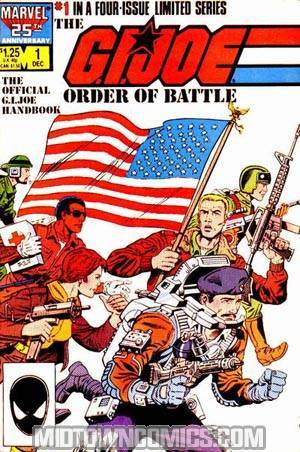 GI Joe Order Of Battle #1