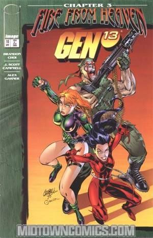Gen 13 Vol 2 #10 Cover A Direct Edition