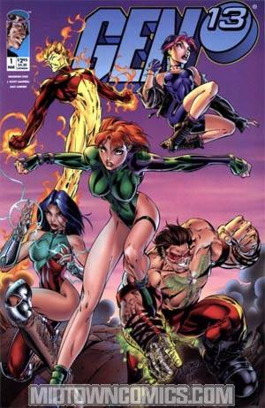 Gen 13 Vol 2 #1 Cover A Charge