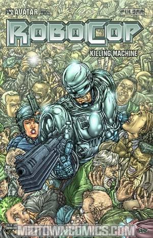 Robocop Killing Machine Special #1 Cover F Crowd Control Cover