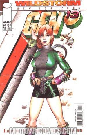 Gen 13 Vol 2 #25 Cover B Charest Cvr