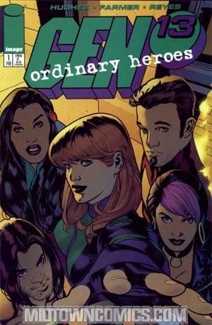 Gen 13 Ordinary Heroes #1 Cover A Direct Edition