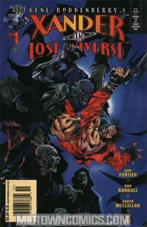 Gene Roddenberrys Xander In Lost Universe #1
