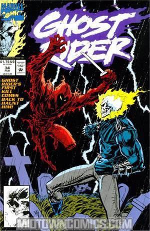 Ghost Rider Vol 2 #34