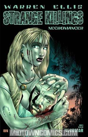 Warren Ellis Strange Killings Necromancer #5 Reg Cvr