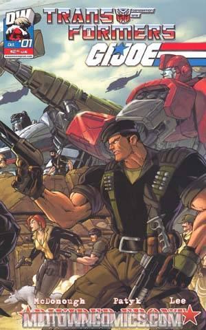 Transformers GI Joe Vol 2 #1 Cover A