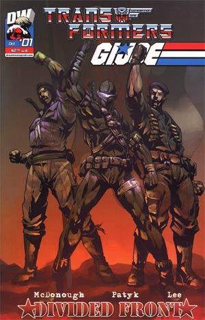Transformers GI Joe Vol 2 #1 Cover C