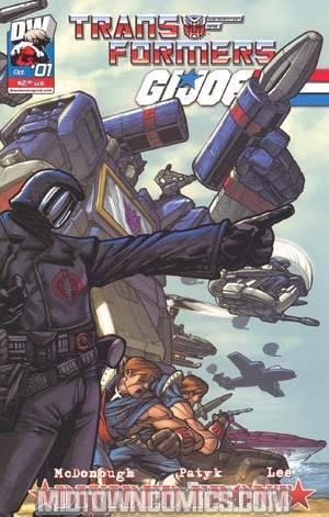 Transformers GI Joe Vol 2 #1 Cover B