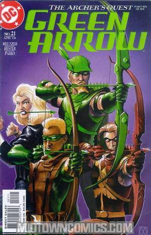 Green Arrow Vol 3 #21