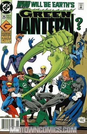 Green Lantern Vol 3 #25