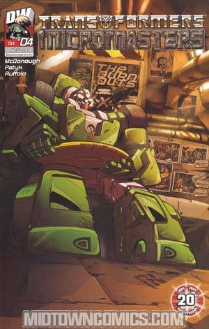 Transformers Micromasters #4 Pat Lee Cover