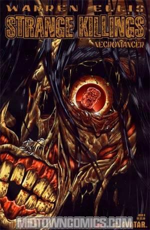 Warren Ellis Strange Killings Necromancer #6 Reg Cvr