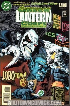 Green Lantern Corps Quarterly #8