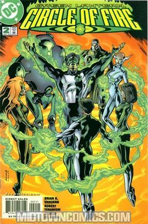 Green Lantern Circle Of Fire #2