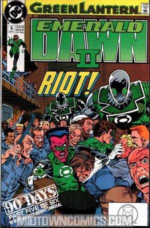Green Lantern Emerald Dawn II #5