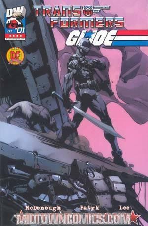 Transformers GI Joe Vol 2 #1 Cover F DF Exclusive Variant Cover