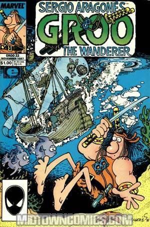 Groo The Wanderer (Marvel Epic) #33