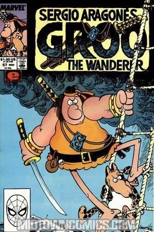 Groo The Wanderer (Marvel Epic) #57