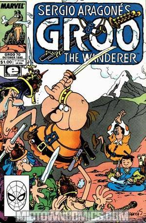 Groo The Wanderer (Marvel Epic) #70