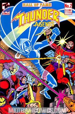 Hall Of Fame Featuring The THUNDER Agents #2