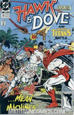 Hawk And Dove Vol 3 #12