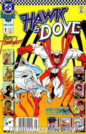 Hawk And Dove Vol 3 Annual #1