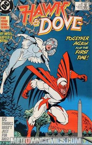 Hawk And Dove Vol 2 #2