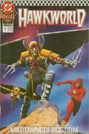 Hawkworld Vol 2 Annual #1