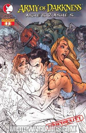 Army Of Darkness Ashes 2 Ashes #1 Cover E Directors Cut
