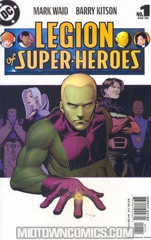 Legion Of Super-Heroes Vol 5 #1