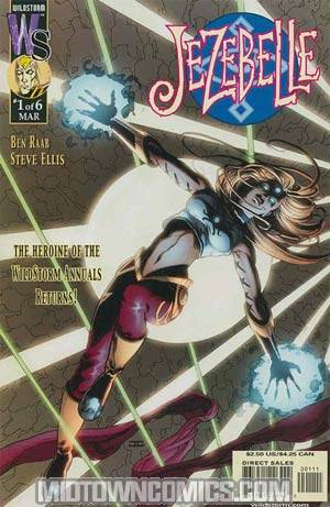 Jezebelle #1 John Cassaday Cover W/O Cape