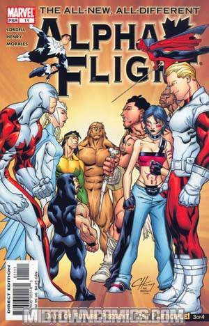 Alpha Flight Vol 3 #11