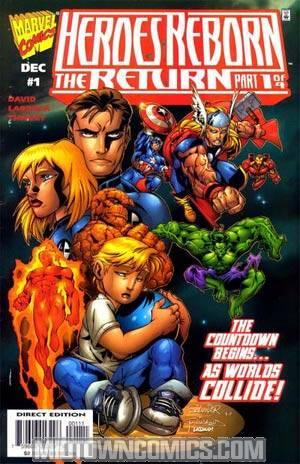 Heroes Reborn The Return #1 Cvr A