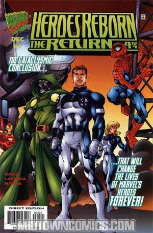 Heroes Reborn The Return #4 Cvr B
