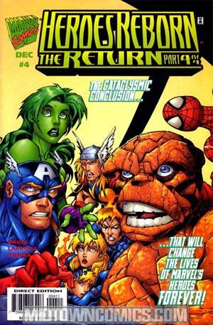 Heroes Reborn The Return #4 Cvr A