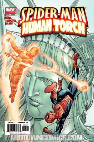Spider-Man Human Torch #1