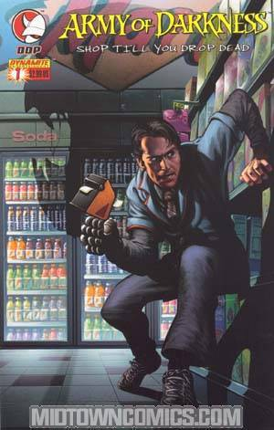 Army Of Darkness Shop Til You Drop Dead #1 Cover C Isanove Cover