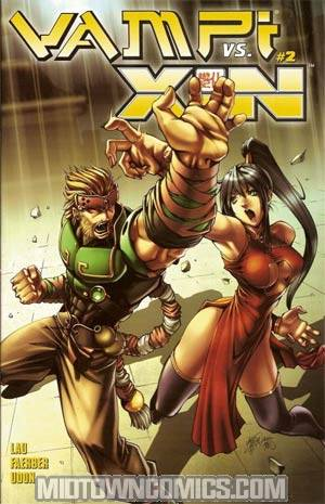 Vampi vs Xin #2 Cover A Lau Cover