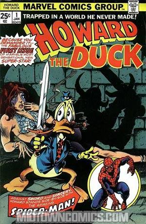 Howard The Duck Vol 1 #1 Cover A 1st Ptg