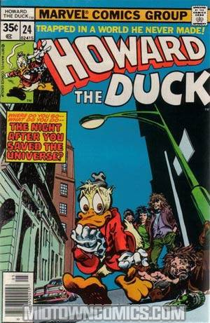 Howard The Duck Vol 1 #24