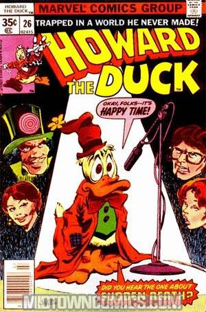 Howard The Duck Vol 1 #26