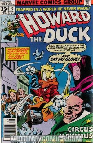 Howard The Duck Vol 1 #27