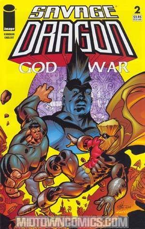 Savage Dragon God War #2