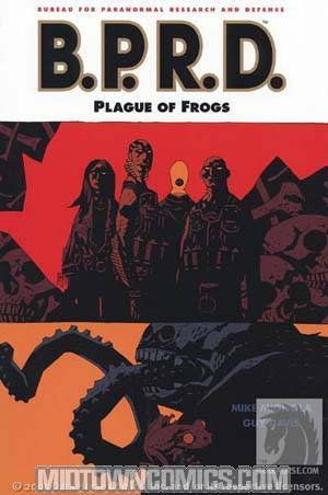 BPRD Vol 3 Plague Of Frogs TP