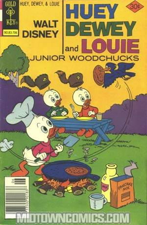 Huey Dewey and Louie Junior Woodchucks #44