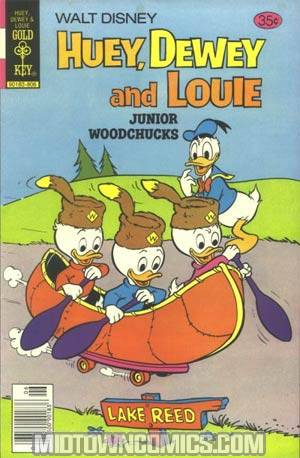 Huey Dewey and Louie Junior Woodchucks #50