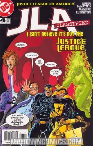 JLA Classified #4